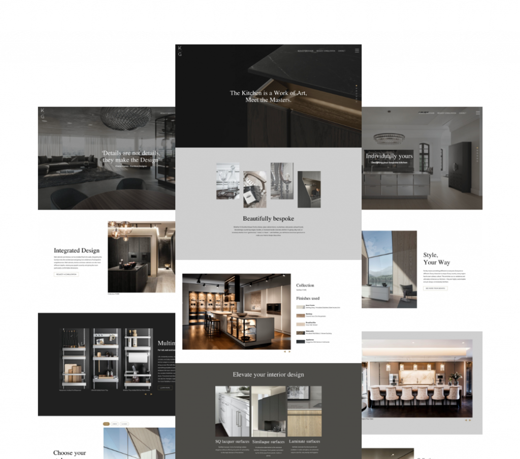 Kitchen Gallery Interior design, Architects & Individual webpages