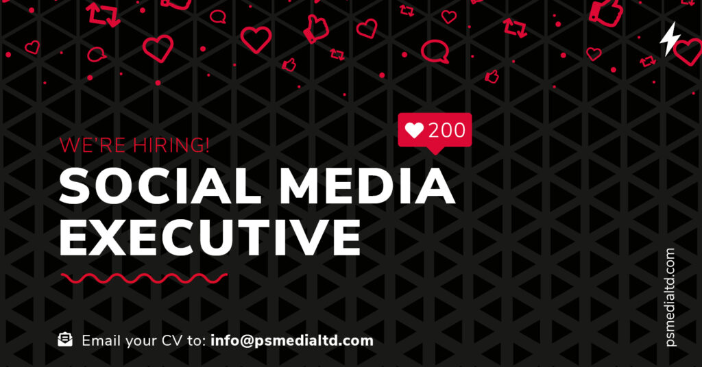 social media executive job title