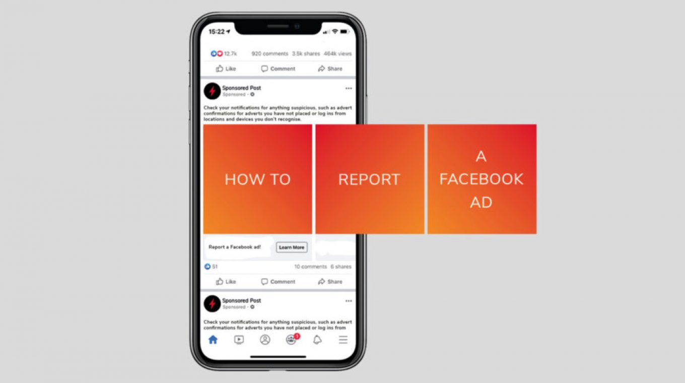 HOW TO REPORT A FACEBOOK ADVERT – A SAGA